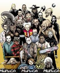 Horror movie Inspired journal