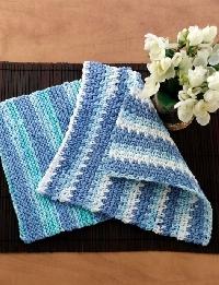 Varigated Stripe  Dishcloth- September 2019