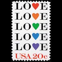 ✉ Vintage Postage on a PC — USA #16
