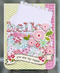 OSS:  Handmade Card & Flat Surprise