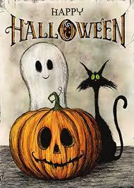 Halloween postcard swap
