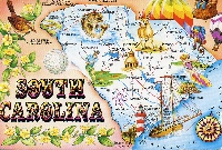 Simply a Senders Choice Tourist Postcard #5 USA