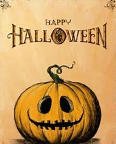 Mixed Media Art Tag #3 Halloween