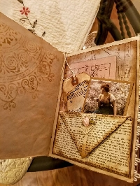 Surprise Antiqued Envelope Swap