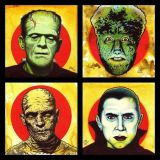 Monster Mania Mail Art Series: #1 Bride of Franken