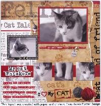 Travelling Cat Scrapbook #2
