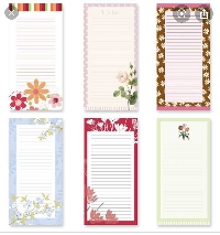 10 List Pad Sheets  ~ Newbies Welcome