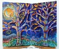 Handmade Art Journal Go Round R46