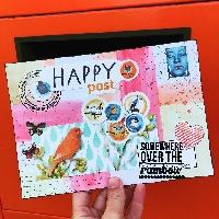 Happymail->Themed Mailart Envie + ATC
