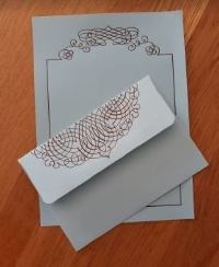 INT Cursive Letter Set Letter 💌✍️ #1