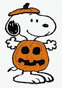 Snoopy/Peanuts Halloween Card Swap - USA