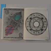 ZZ ~ Zentangle Zine-G-Round USA R13