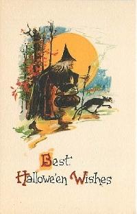 Halloween Postcard swap #2
