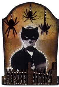 Halloween ATC - Tombstone Shaped ATC (USA)