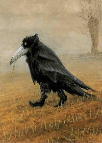 Crazy About Crows Mail Art and Goodies