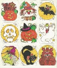 🎃 Halloween sticker sheet swap 👻