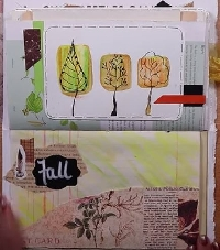 YTPC: Art Journal Page #24: Colors of Autumn