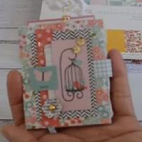 USAPC: Mini-Album from 6x6 Paper: Autumn