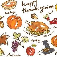 UHM: Thanksgiving Card + Profile Greeting