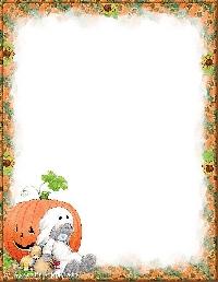 2 halloween ATC + letter #2