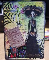 Day of the Dead / Halloween ATC
