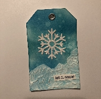 Handmade Holiday Gift Tag Swap