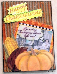 Journal Page - Thanksgiving - U.S.