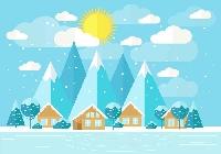 Christmas Card and Winter theme ATC - Intl
