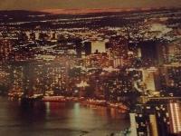 October nightview postcards