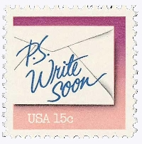 ✉ Vintage Postage on a PC — USA #27