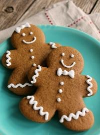 🎅🎄Christmas ATC Series INTL 1/9 - Gingerbread Man!