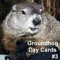 Groundhog Day Cards #3