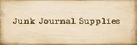 WIYM: Junk Journal Supplies