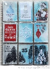 Christmas theme pocket letter
