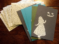 upcycled literary letterset