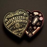 Halloween Valentine heart Box Swap