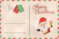 Upcycled Christmas Post Card Newbie Friendly