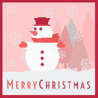 Simple Christmas Card Swap USA