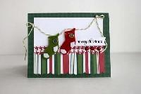 **HANDMADE** Christmas card~USA