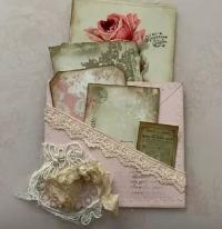 YTPC:  Embellished Envelope Tuck Spot