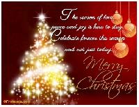 FPRU: Upcycled Christmas card #1 USA