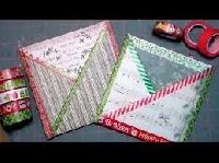 SIS:  Winter/Christmas Criss-Cross Pocket