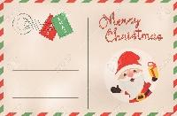 ONLY Upcycled Christmas Post Cards USA