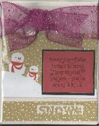 CMF - Profile based Christmas Card