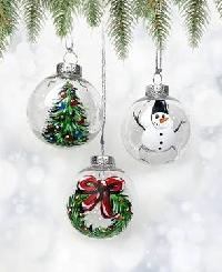 🎅🎄Christmas ATC Series INTL 6/9 - Ornament!