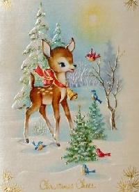 🦊🐺🦝 Woodland Christmas Card #2 🌲