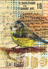 MFF: Mixed Media ATC with a Twist
