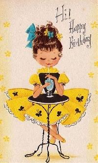 FEBRUARY BIRTHDAYS: GREETING CARD SWAP