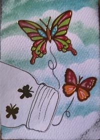 Butterflies ATC