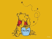 Winnie the Pooh Postcard Swap
